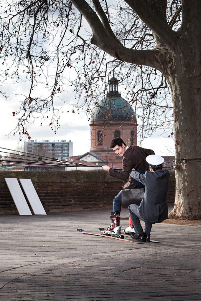 Mobilités à Toulouse, photo Matthieu Sartre - Modèle Denis Rey