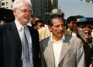 Pierre Cohen et Lionel Jospin