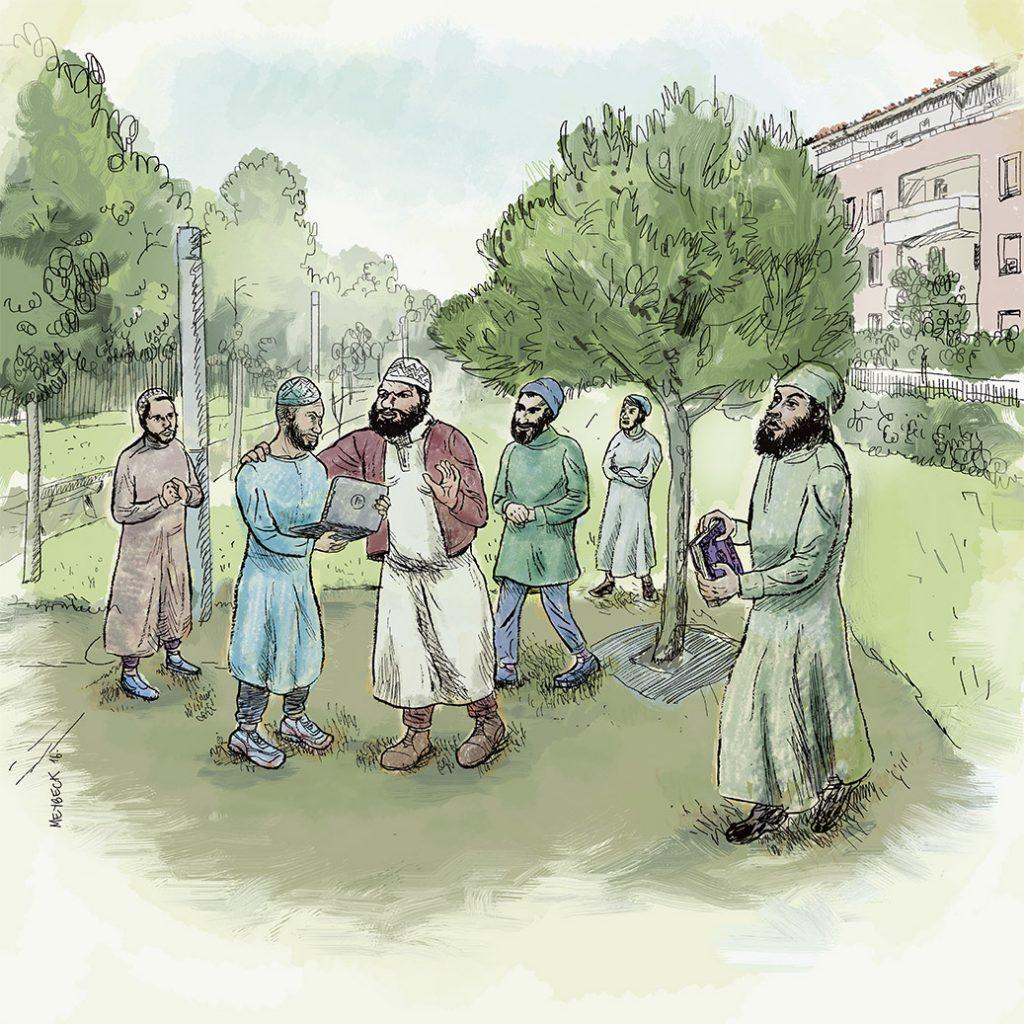 Fabien Clain utilisait le parc de la Maourine à Borderouge pour réunir de jeunes hommes et leur lire un manifeste du nouveau djihadisme à la française.