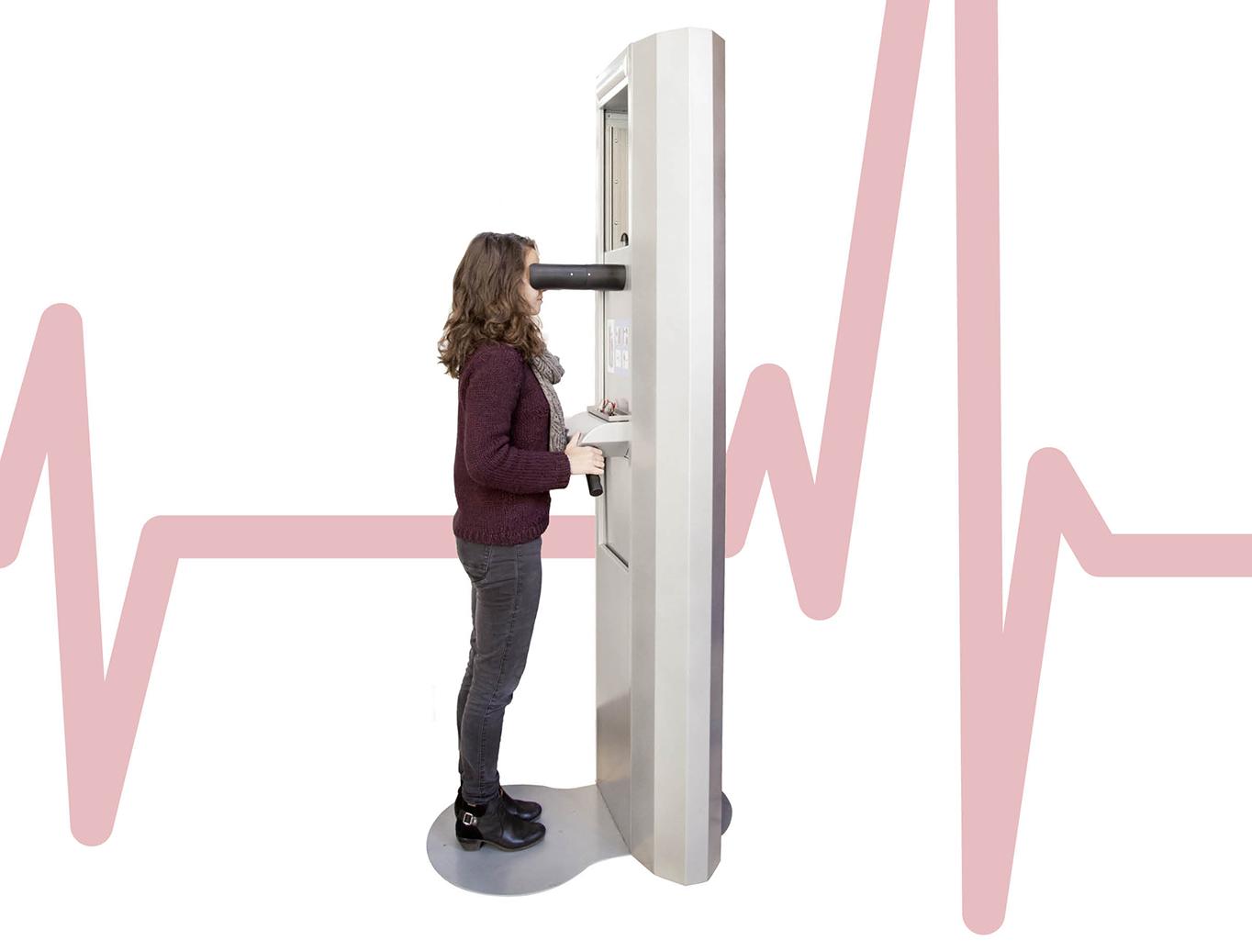 anxiété CHU toulouse machine test