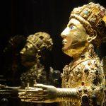 tourisme rodez visite AVEYRON (12) CONQUES. TRESOR DE CONQUES. STATUT STE FOY