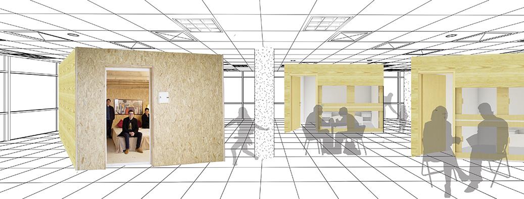unity cube mal-loges logement bureaux