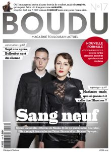 couverture magazine boudu