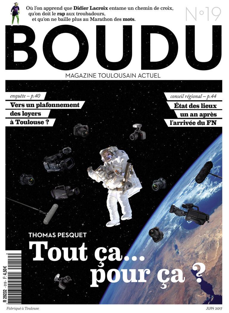 Boudu juin 2017 Thomas Pesquet loyer FN conseil régional Occitanie