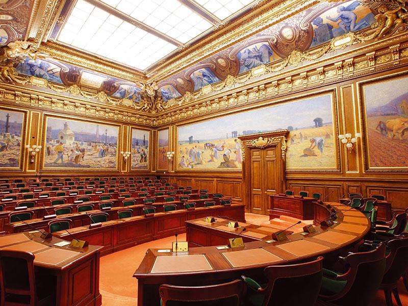 Salle du Conseil d'état - Palais-Royal (Paris)