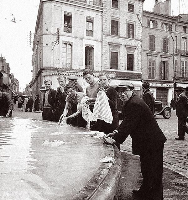 Réfugiés belges à Toulouse - Tintin