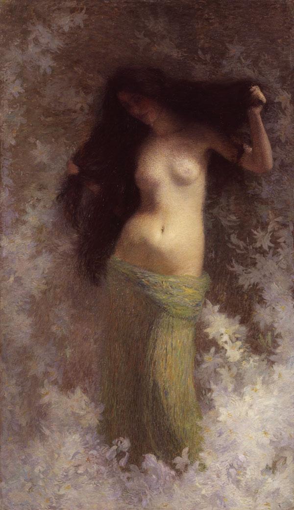 Henri Martin - Beauté - Peinture à l'huile - 1900 - Musée des Augustins © Daniel Martin
