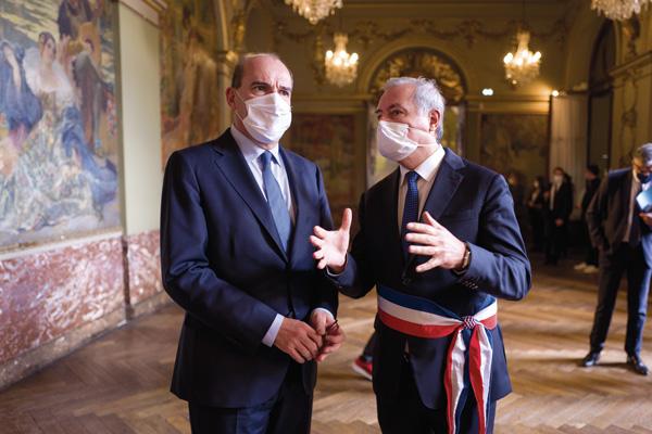 Jean-Luc Moudenc et Jean Castex au Capitole